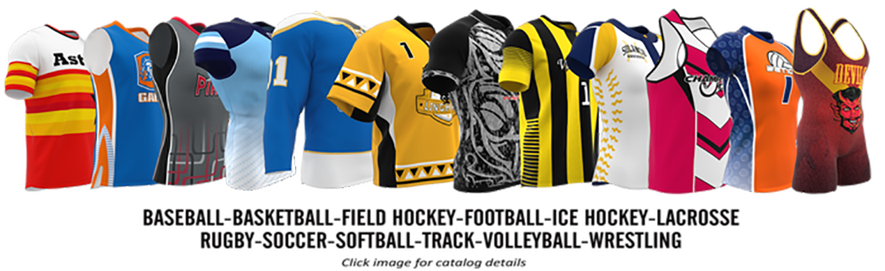 Impress Athletix Custom Sublimated Uniforms and Spirit Wear