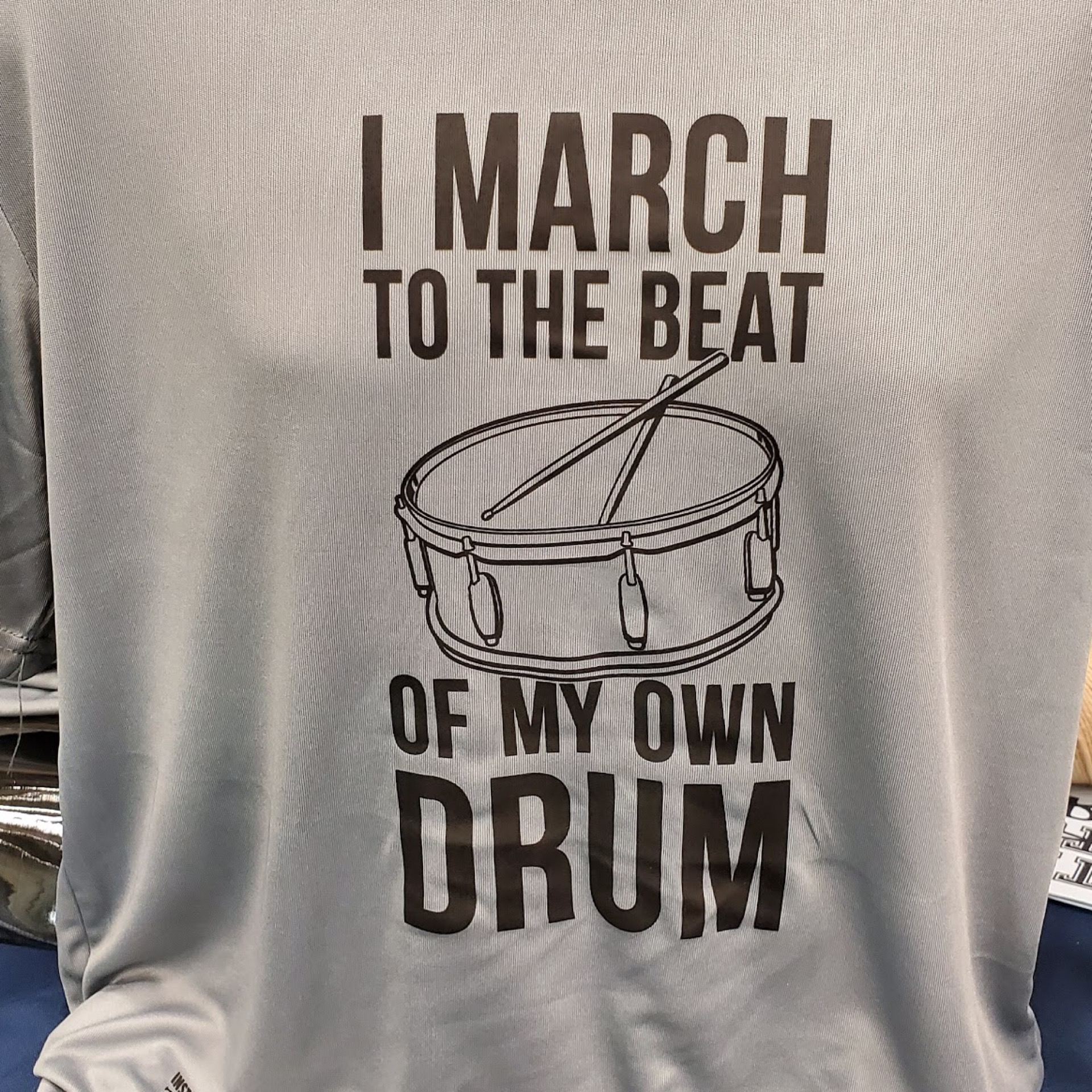 March To The Beat Of My On Drum