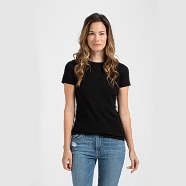 Ladies' Fine Jersey Slim Fit Tee