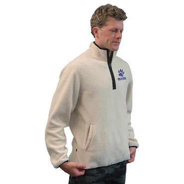 Adult Sherpa 1/4 Zip Fleece Pullover