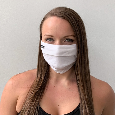 100% US Cotton Flat Face Mask | Washable and Reusable
