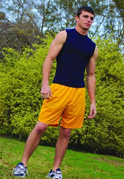 "Adult Cool-Tek 7"" Mesh Short available in 12 team colors at ImpressAthletix.com. Great for PE, training, and working out."